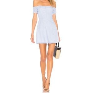 Revolve By the way Leila off shoulder dress